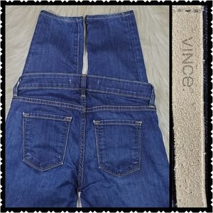 Vince skinny Jean's size 25 mid rise womans